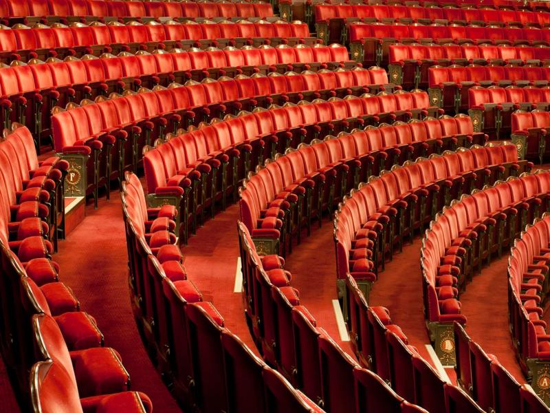 London Coliseum theatre seats