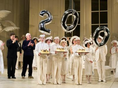 Celebration for the 200th performance of the The Mikado