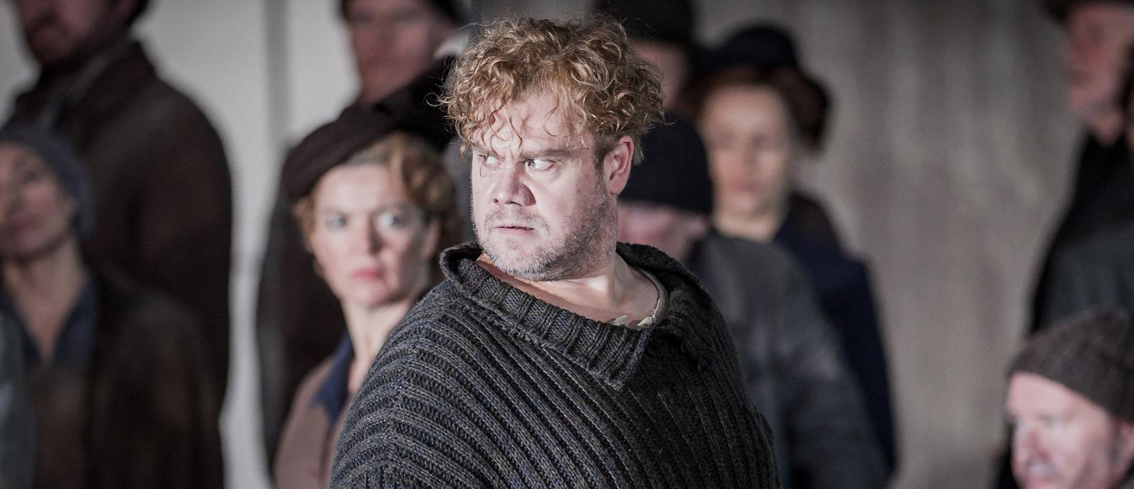 ENO Peter Grimes: Stuart Skelton as Peter Grimes (c) Robert Workman