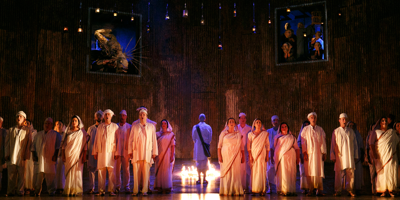ENO's Satyagraha - ENO Company. Photo by Donald Cooper