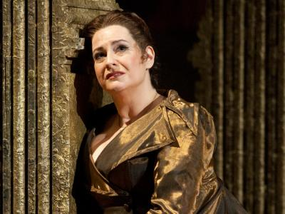 ENO's Tosca - Claire Rutter as Tosca. Photo by Mike Hoban