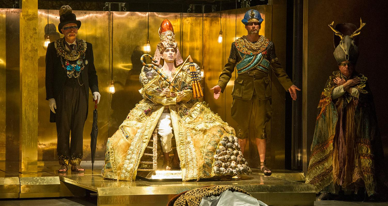 Anthony Roth Costanzo as Akhnaten. Picture by Richard Hubert Smith