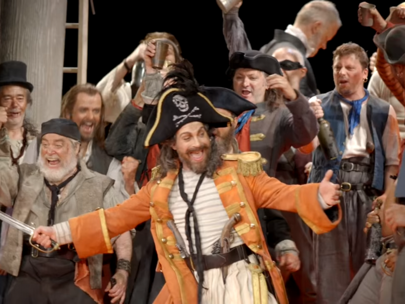 The Pirates of Penzance at the London Coliseum
