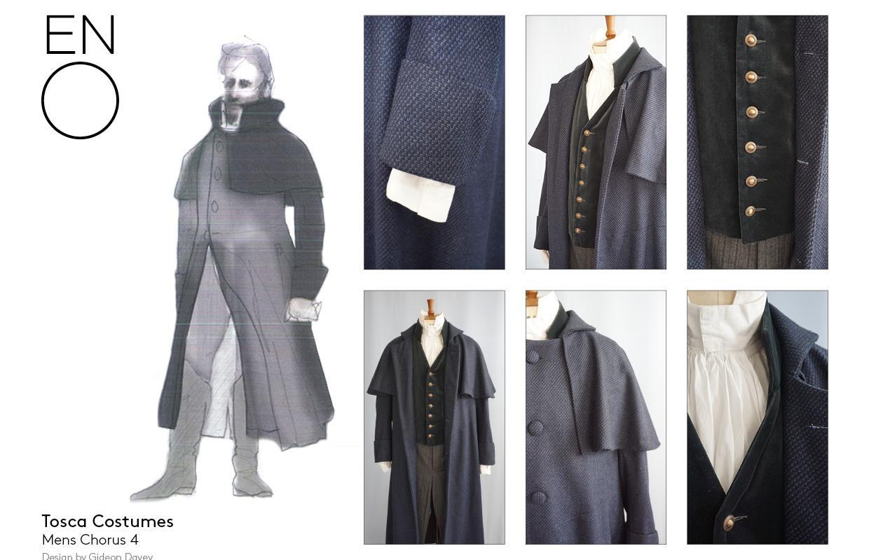 Tosca male costume design