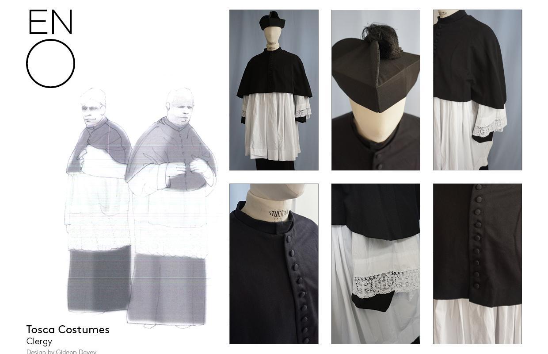 Tosca clergy costume