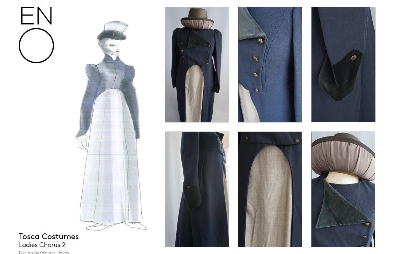 Tosca ladies chorus 2 costumes