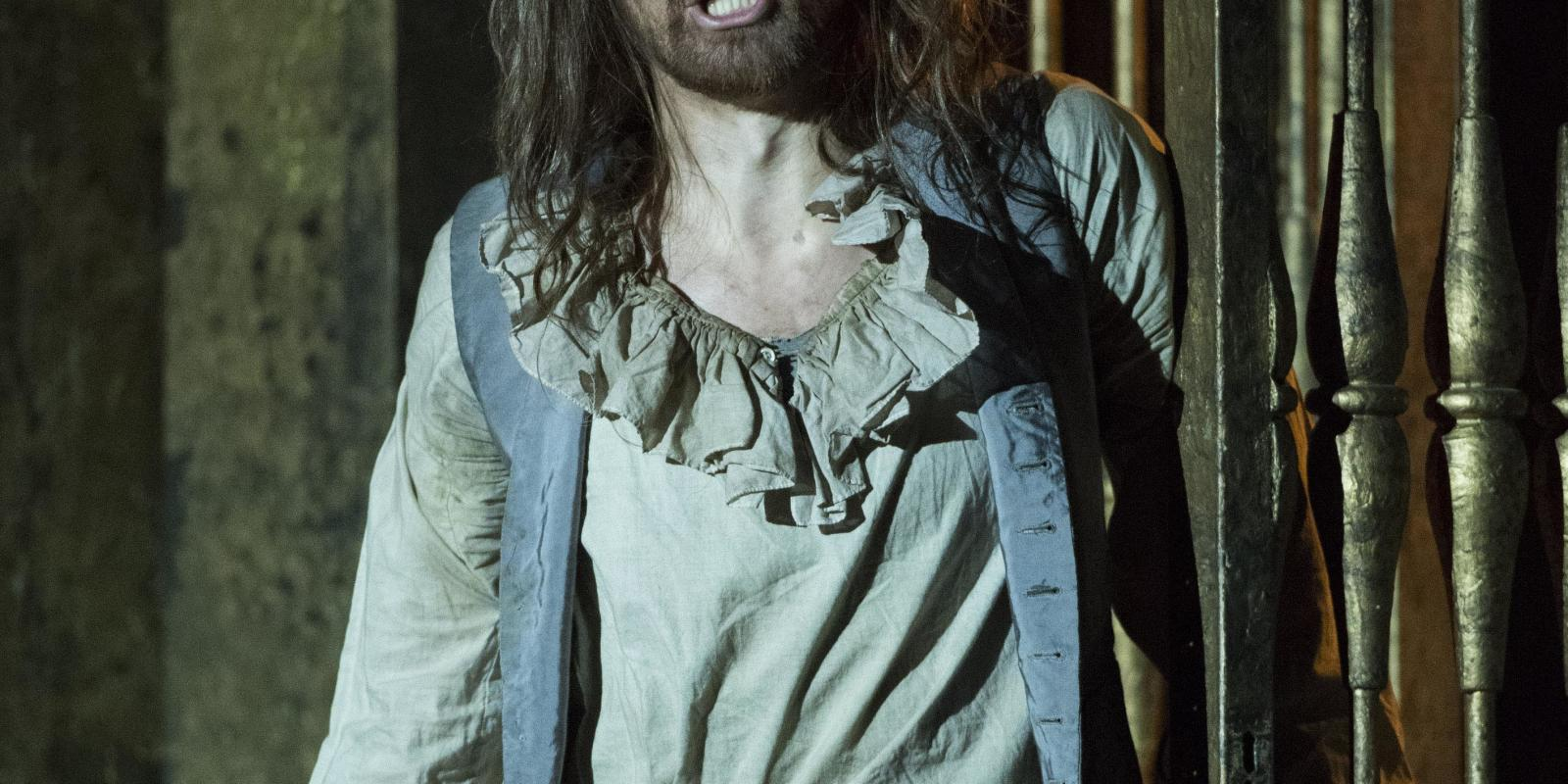 Andri Bjorn Robertsson as Angelotti in ENO's Tosca