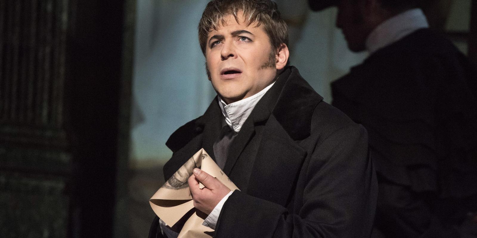 Craig Colclough as Scarpia performing in ENO's Tosca