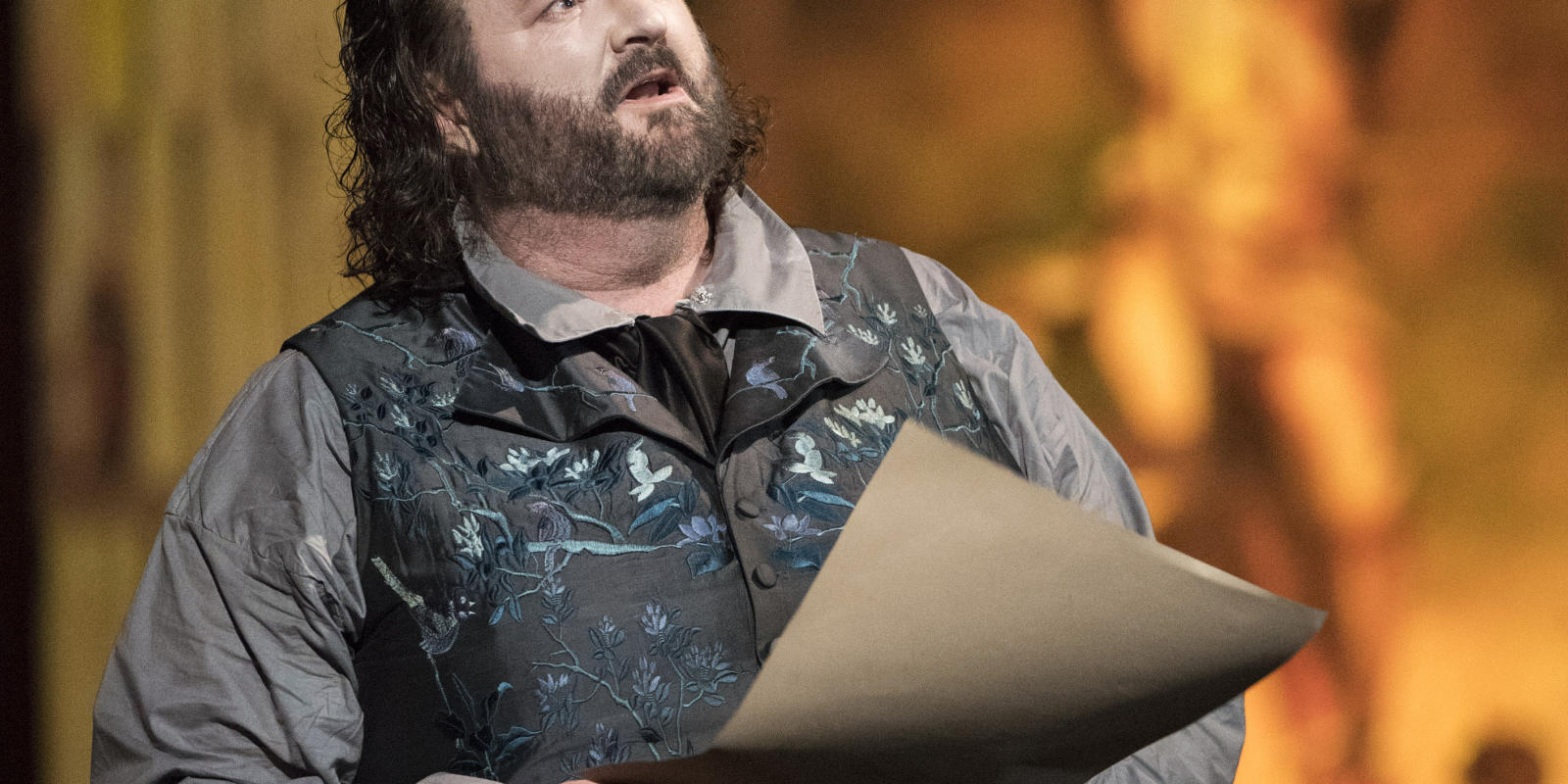 Gwyn Hughes Jones as Cavaradossi in ENO's Tosca