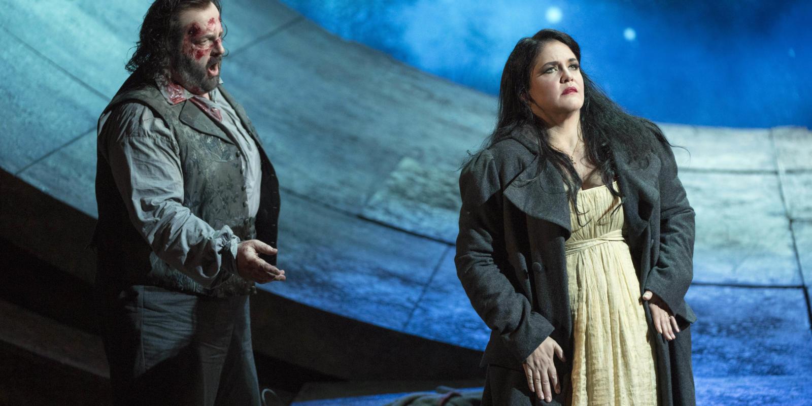 Keri Alkema as Tosca and Gwyn Hughes Jones as Cavaradossi