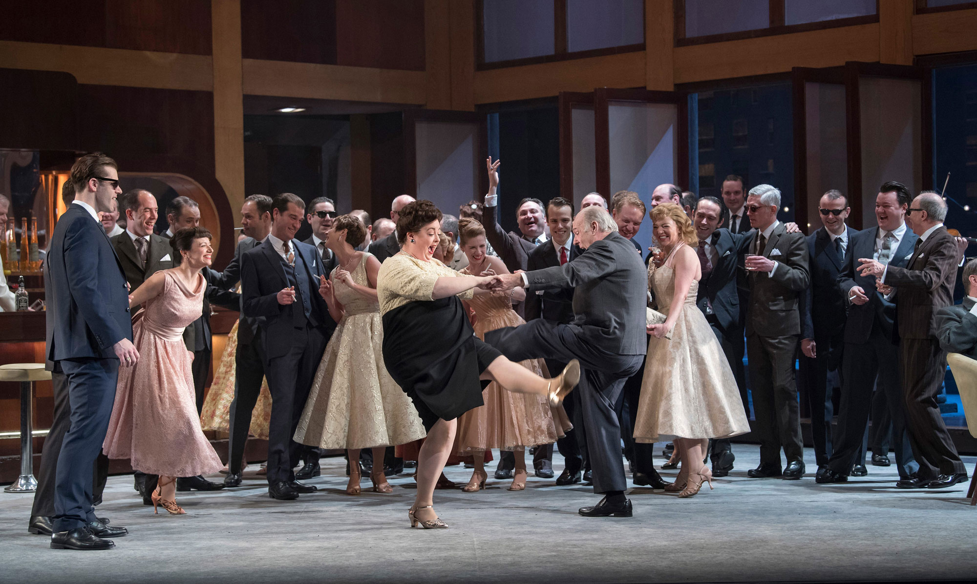 Opera for All - ENO Chorus in Jonathan Miller's Rigoletto