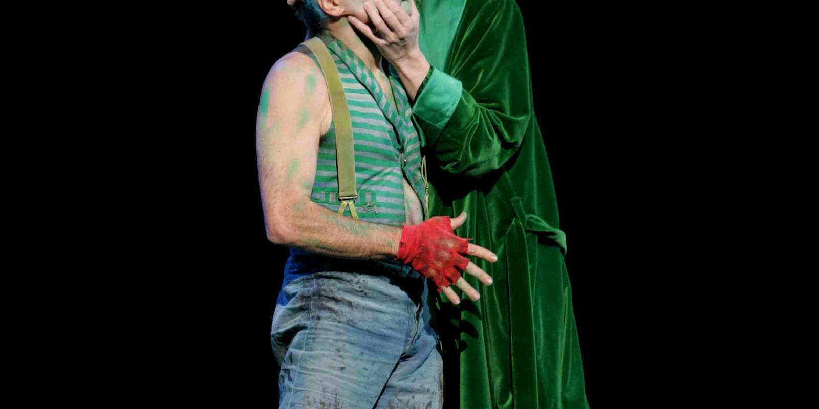 An image of Emil Wolk and Robin Blaze in ENO's 2004 production of A Midsummer Night's Dream