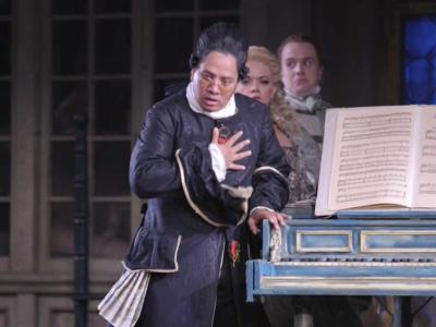 Screenshot from Rossini's The Barber of Seville