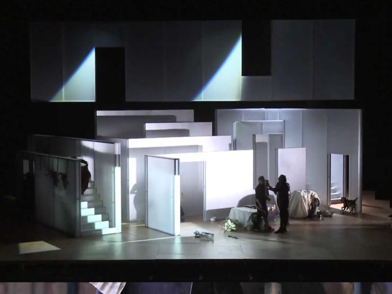 Screenshot from Mozart's The Marriage of Figaro