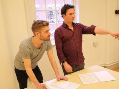 Jamie Manton and Matthew Monaghan