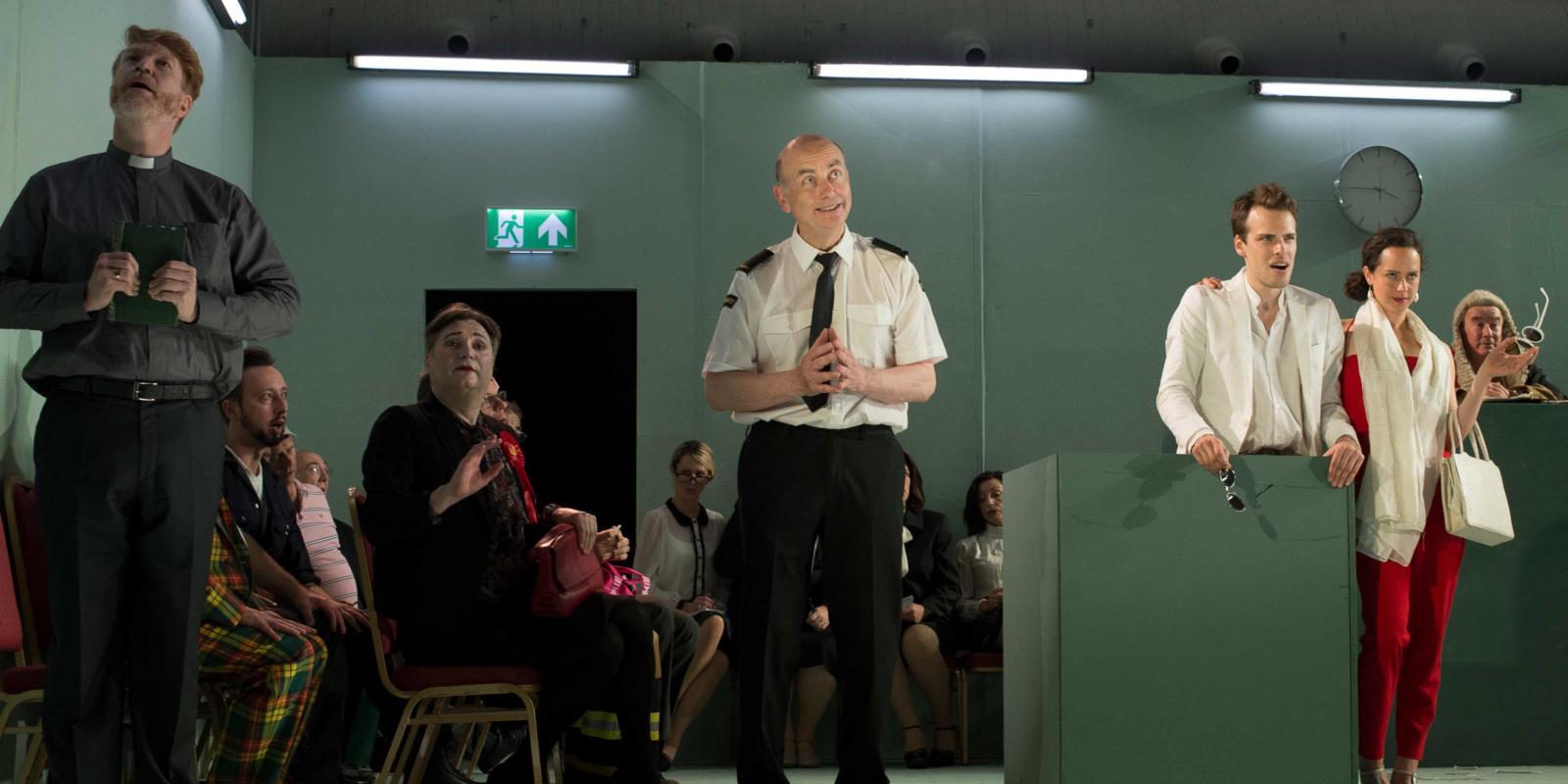 ENO Studio Live Trial By Jury Production