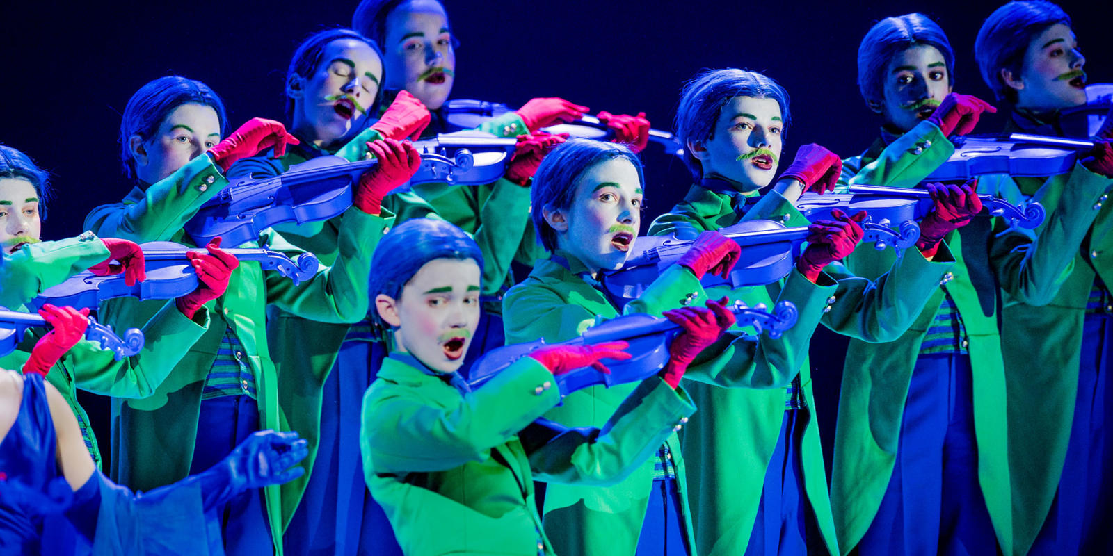 ENO A Midsummer Night's Dream Trinity Boys Choir (c) Robert Workman