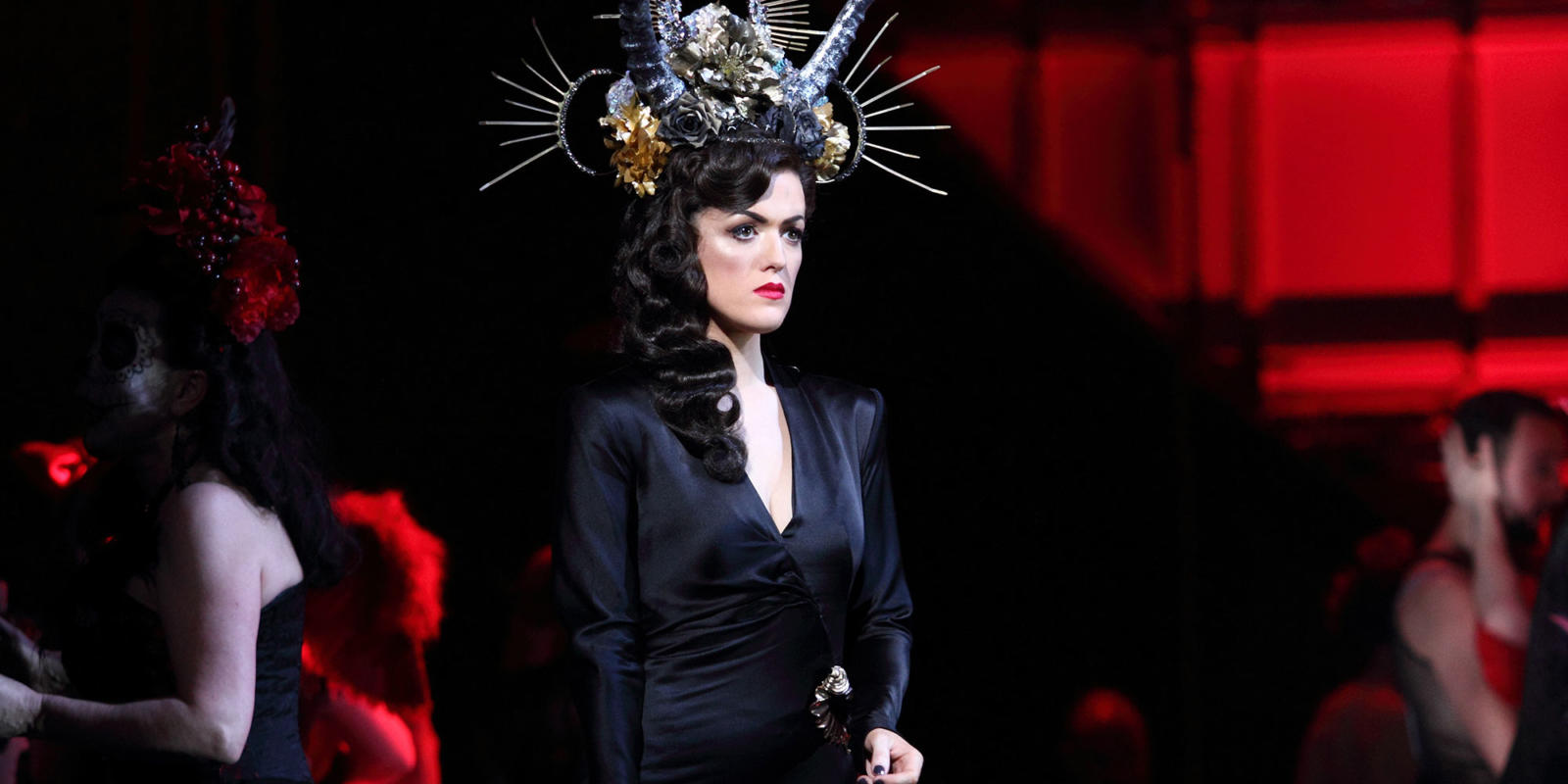ENO Traviata Claudia Boyle as Violetta (c) Catherine Ashmore