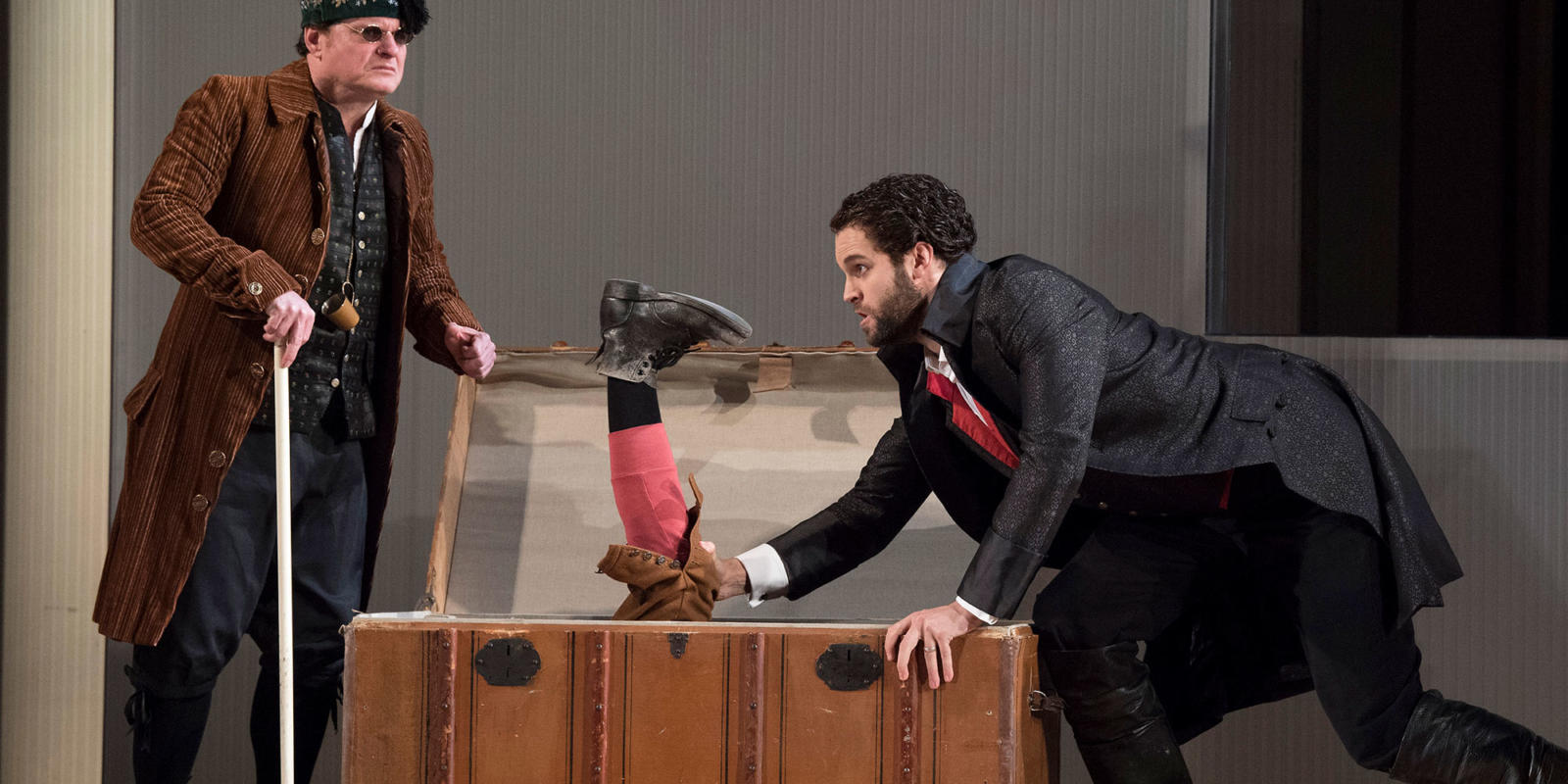 ENO 17/18: The Marriage of Figaro Colin Judd Ashley Riches (c) Alastair Muir