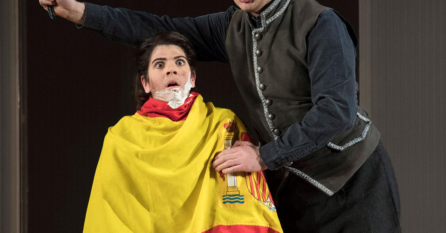 ENO 17/18: The Marriage of Figaro Katie Coventry Thomas Oliemans (c) Alastair Muir