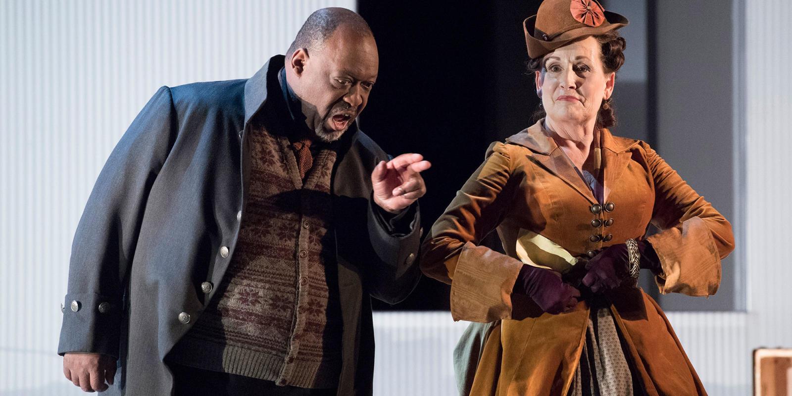ENO 17/18: The Marriage of Figaro Keel Watson Janis Kelly (c) Alastair Muir