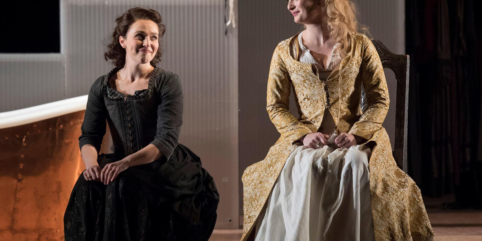 ENO 17/18: The Marriage of Figaro Rhian Lois Lucy Crowe (c) Alastair Muir