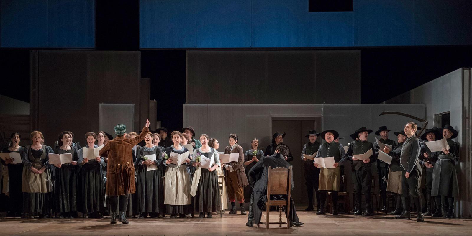 ENO 17/18: The Marriage of Figaro ENO Chorus Members (c) Alastair Muir