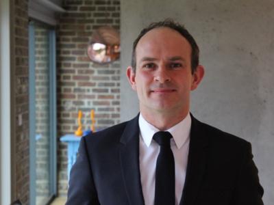 head and shoulder portrait Stuart Murphy, Chief Executive of ENO