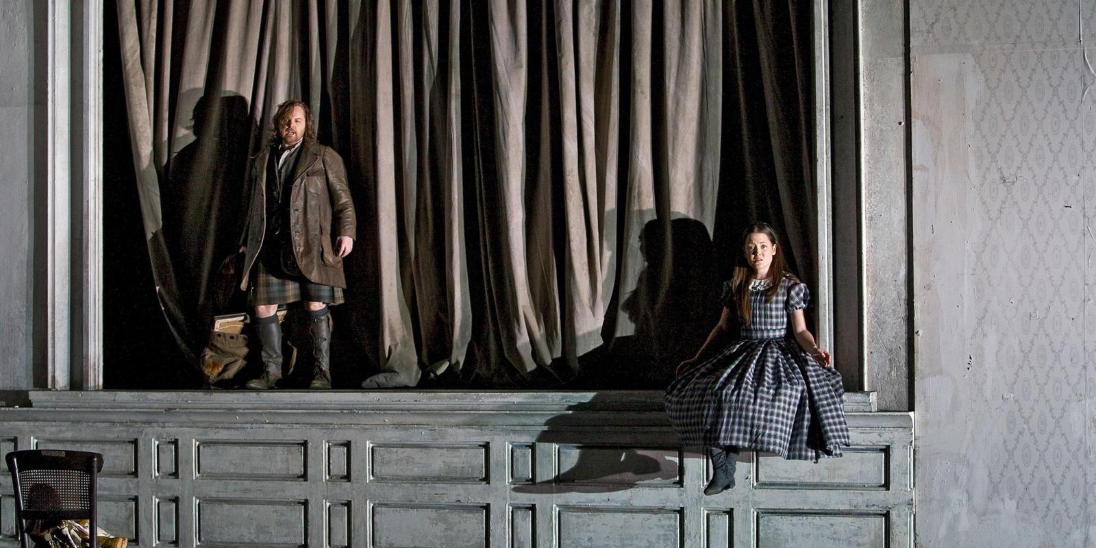 ENO Lucia di Lammermoor Anna Christy and Dwayne Jones (c) Robert Workman