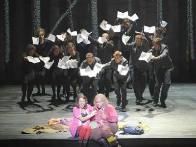 Mozart's The Magic Flute trailer