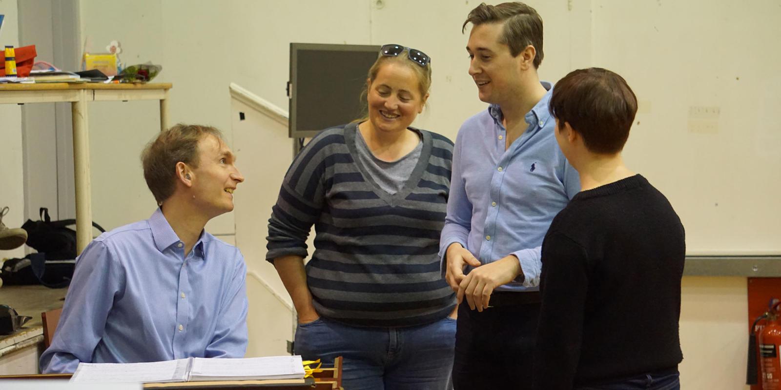 ENO Studio Live: Acis and Galatea - Nicholas Ansdell-Evans with Rosie Davis, Bradley Smith and Director Sarah Tipple