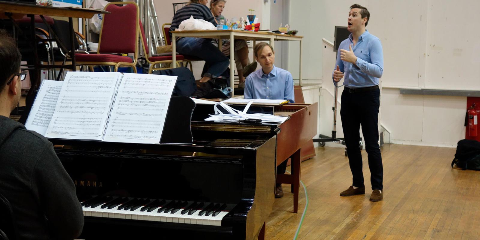 ENO Studio Live: Acis and Galatea - Nicholas Ansdell-Evans with Bradley Smith (Damon)