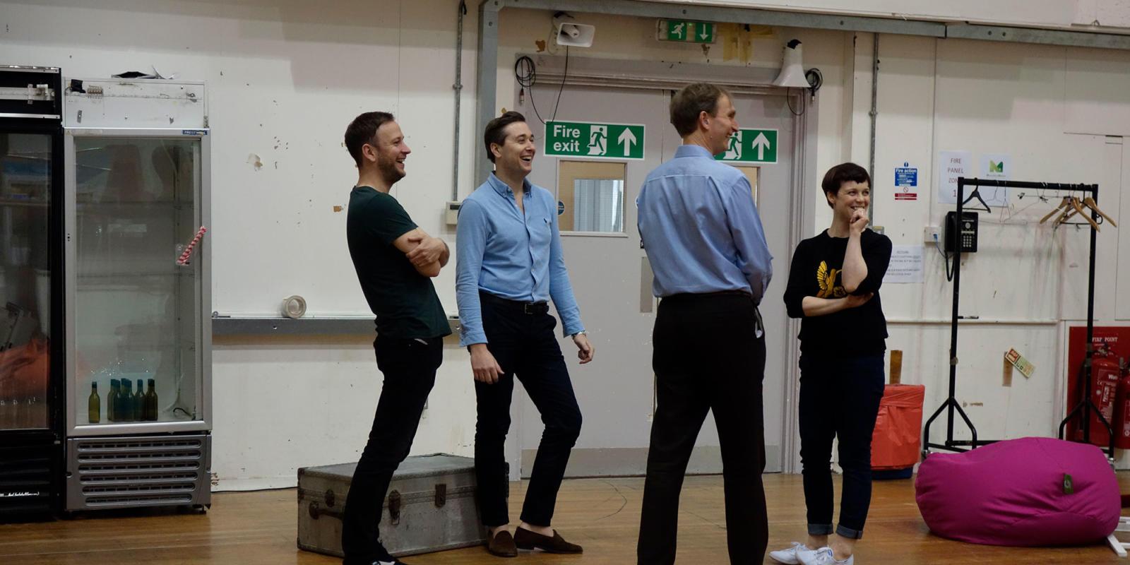 ENO Studio Live: Acis and Galatea - Alexander Sprague, Bradley Smith, Nicholas Ansdell-Evans and Sarah Tipple
