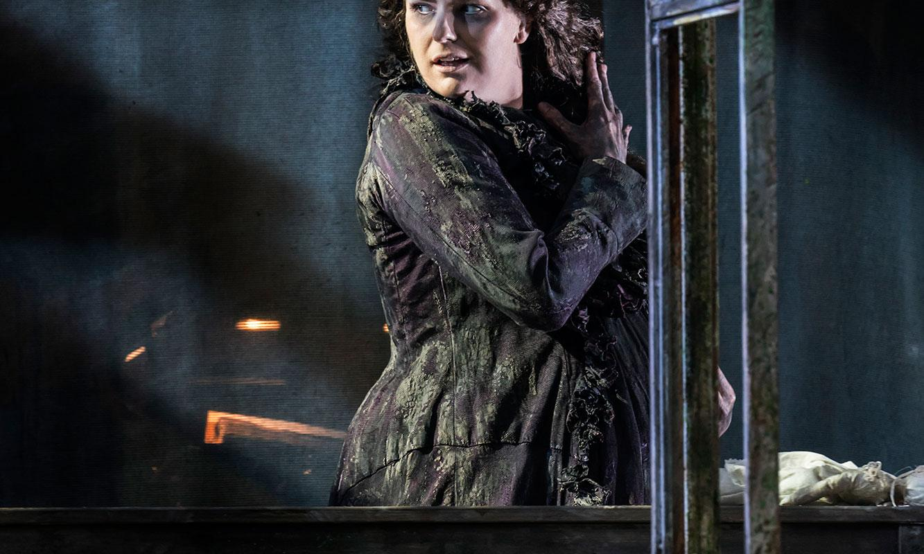 ENO 2017/18 The Turn of the Screw: Elin Pritchard. Photo Johan Persson.