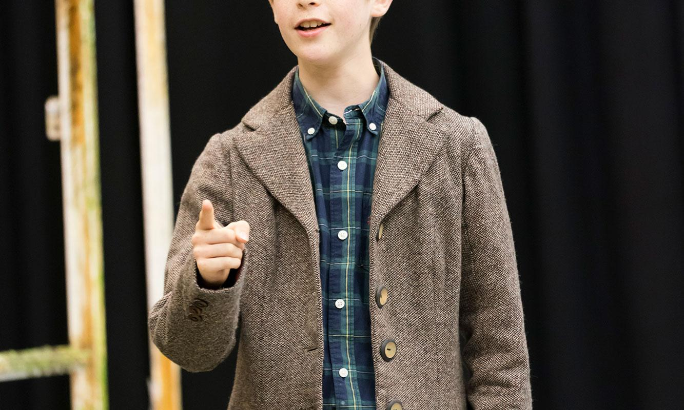 ENO at Regent's Park Theatre: The Turn of the Screw Sholto McMillan (c) Johan Persson