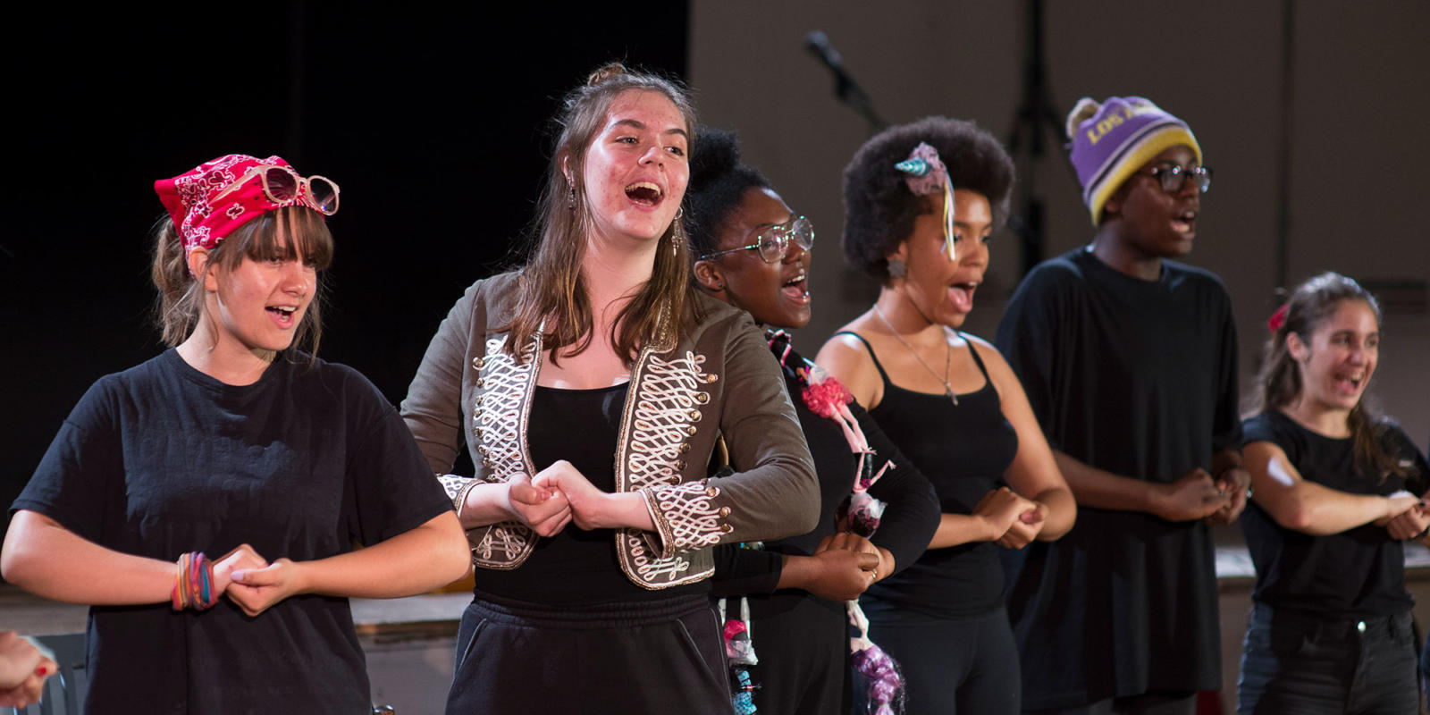 Lavender Song ENO Youth Company final performance July 2018