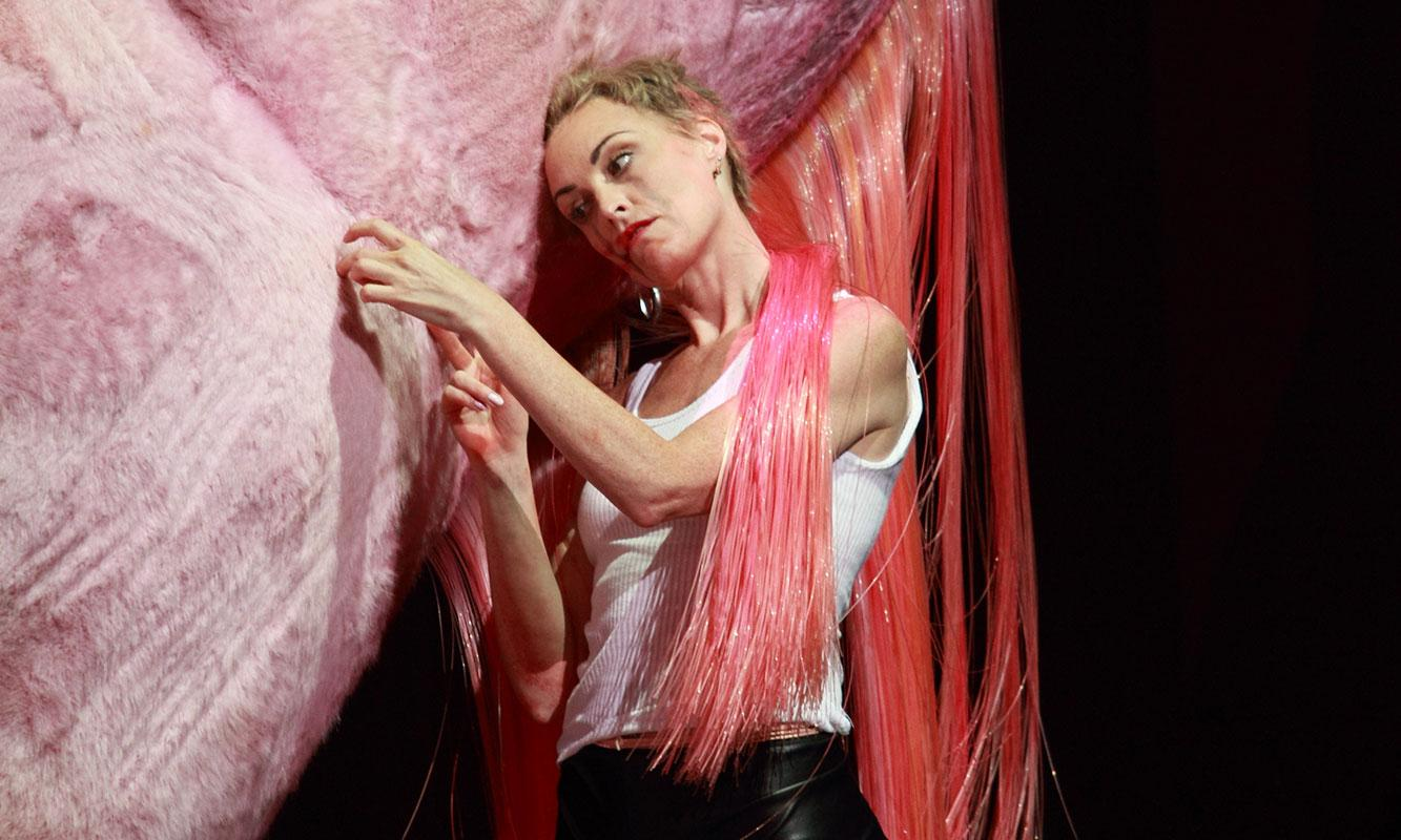 ENO Salome: Allison Cook on stage (c) Catherine Ashmore