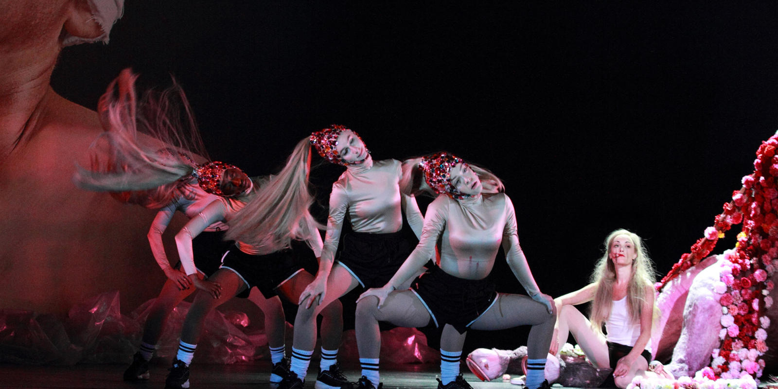 ENO Salome: dancers and Allison Cook (c) Catherine Ashmore