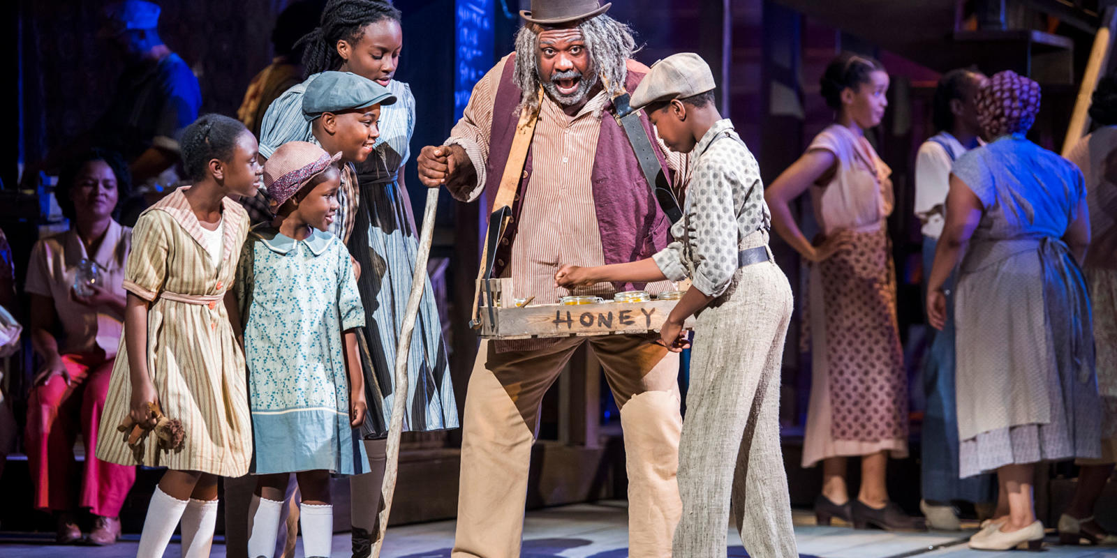 ENO Porgy and Bess: Ronald Samm (c) Tristram Kenton
