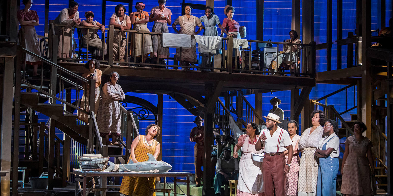 ENO Porgy and Bess: Tichina Vaughn and company (c) Tristram Kenton