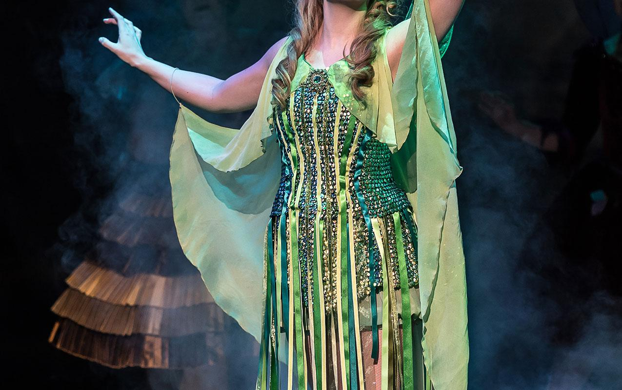 Samantha Price in the title role of Gilbert and Sullivan's Iolanthe.