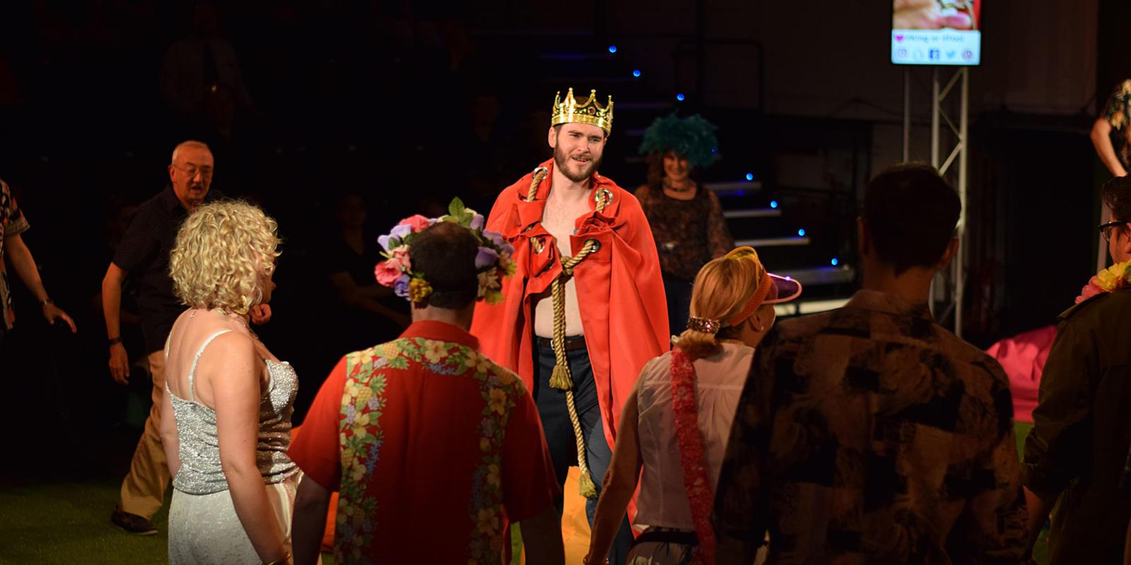 Matthew Durkan in ENO Studio Live's production of Handel's Acis and Galatea.