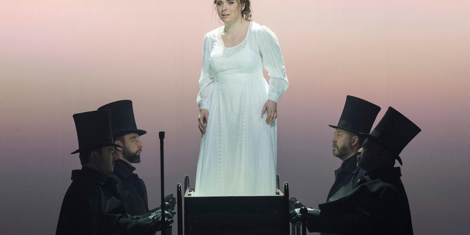 ENO 2018/19 Jack the Ripper: The Women of Whitechapel: Natalya Romaniw as Mary Jane Kelly © Alastair Muir