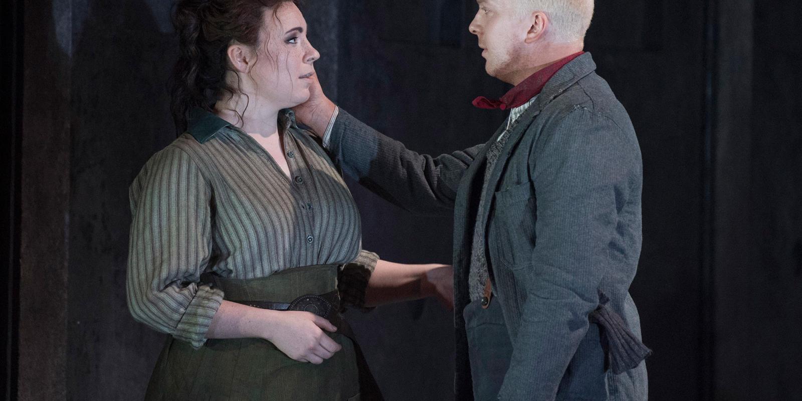 ENO 2018/19 Jack the Ripper: The Women of Whitechapel: Alex Otterburn as Squibby© Alastair Muir