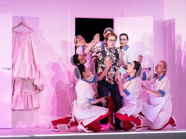ENO The Marriage of Figaro 2020, ENO Chorus, Hanna Hipp, © Marc Brenner