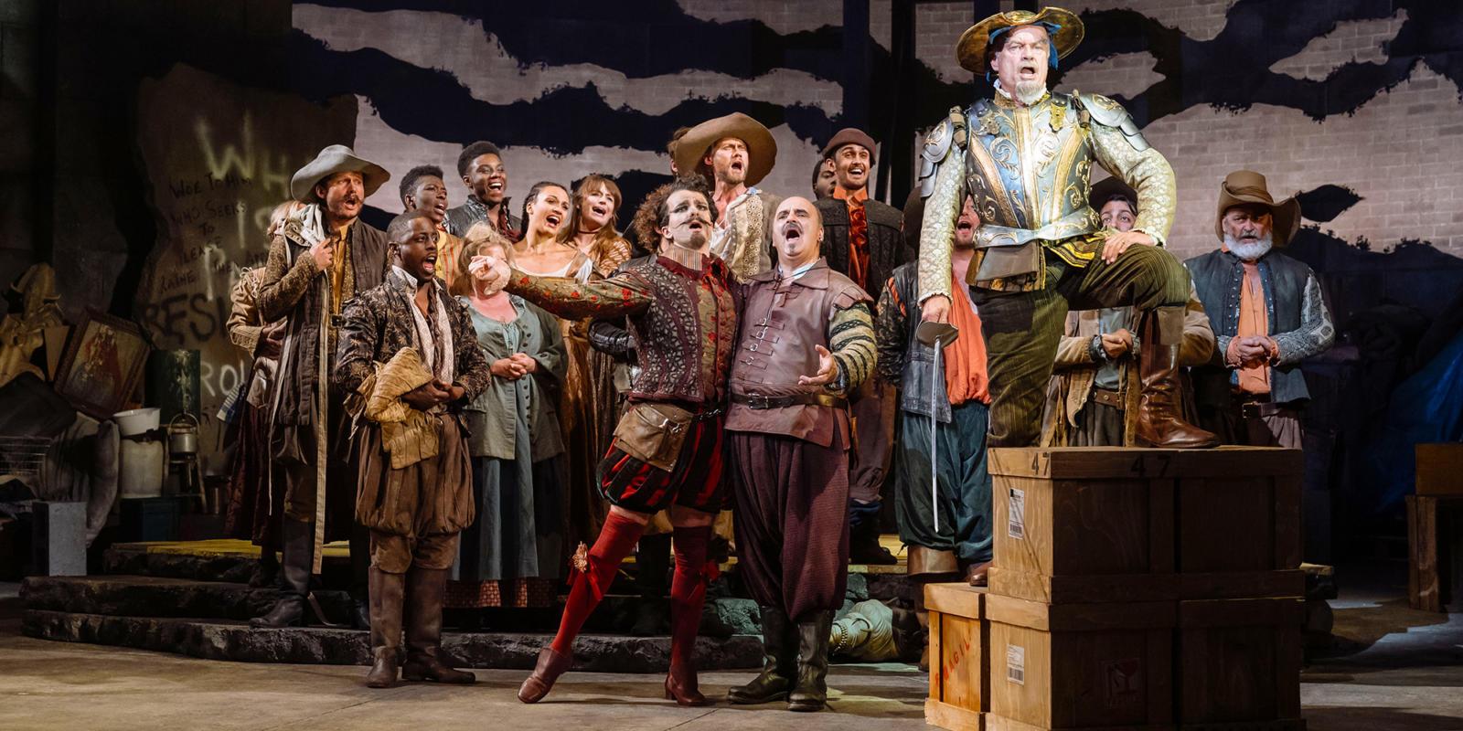 Man of La Mancha: Kelsey Grammer and ensemble