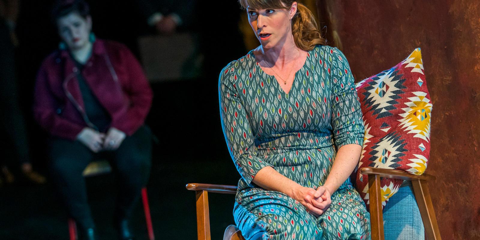 Rachael Lloyd in Dido at the Unicorn Theatre. Photo Tristram Kenton