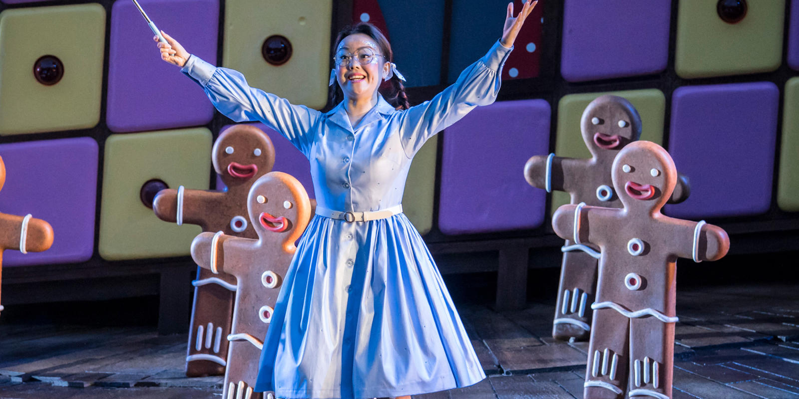 ENO Hansel and Gretel at Regent's Park Open Air Theatre: He Wu as Dew Fairy (c) Johan Persson.