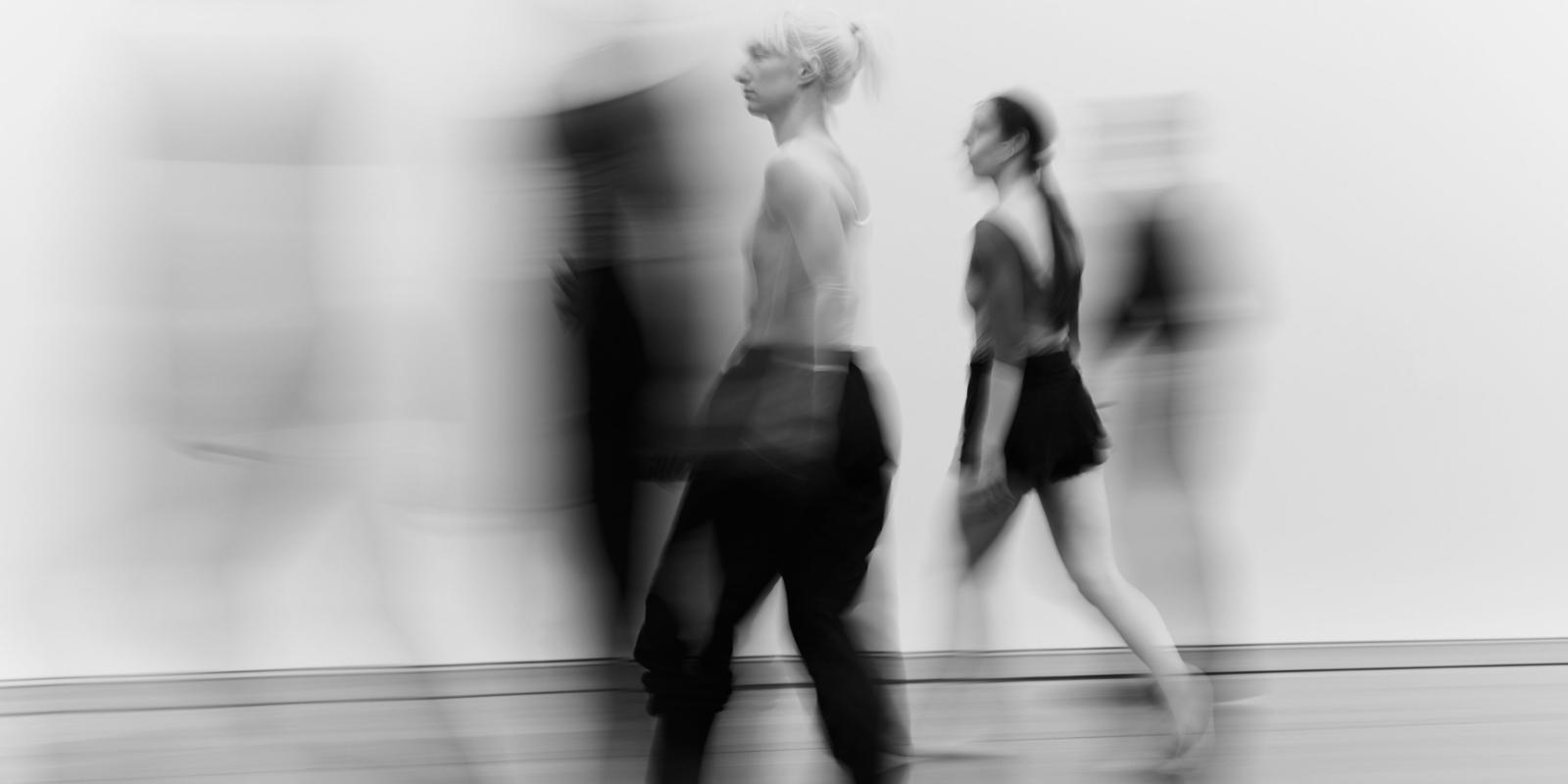 ENO Orpheus and Eurydice - Company Wayne McGregor, Rebecca Bassett-Graham (c) George Harvey