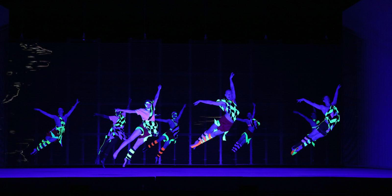 ENO1920 Orpheus and Eurydice: Dancers from studio Wayne McGregor